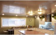 Натяжной Потолок ПВХ Глянцевый для Кухни