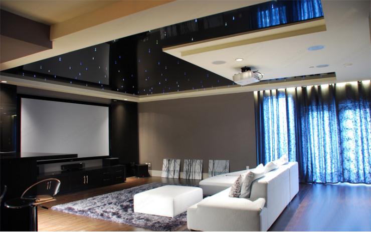 Натяжной Потолок ПВХ Звездное небо для Гостиной