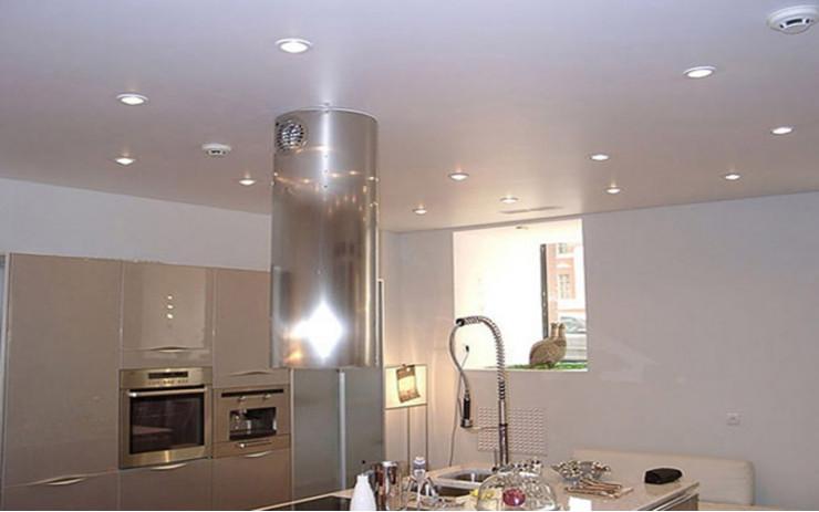 Натяжной Потолок ПВХ Сатиновый для Кухни