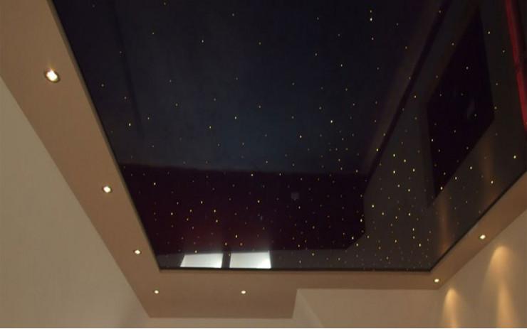 Натяжной Потолок ПВХ Звездное небо для Кухни
